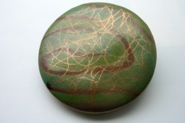 Moss Green Brooch