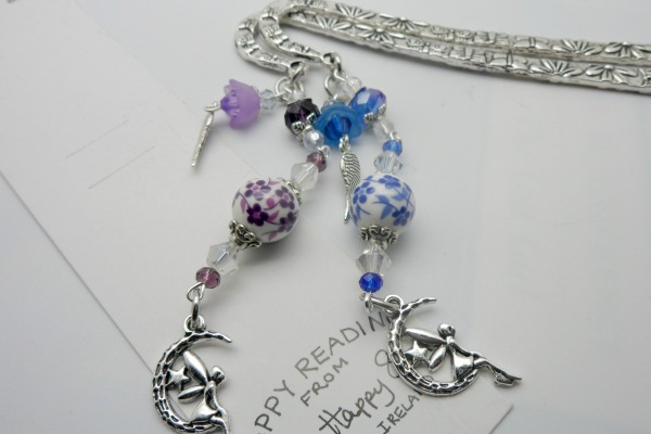 Fairy Charm Beaded Bookmark