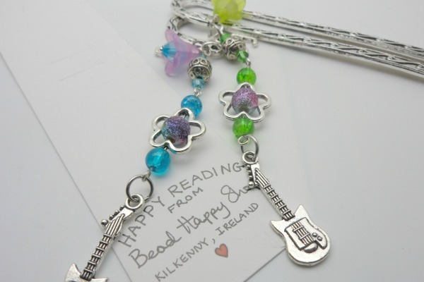 Guitar Lovers Bookmark