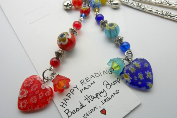 Love Heart Bookmark