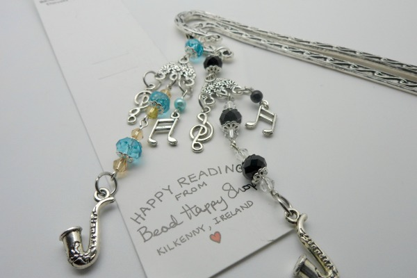 Saxophone Music Lovers Bookmark