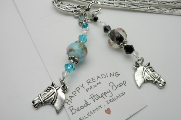 Horse and Horseshoe Bookmark